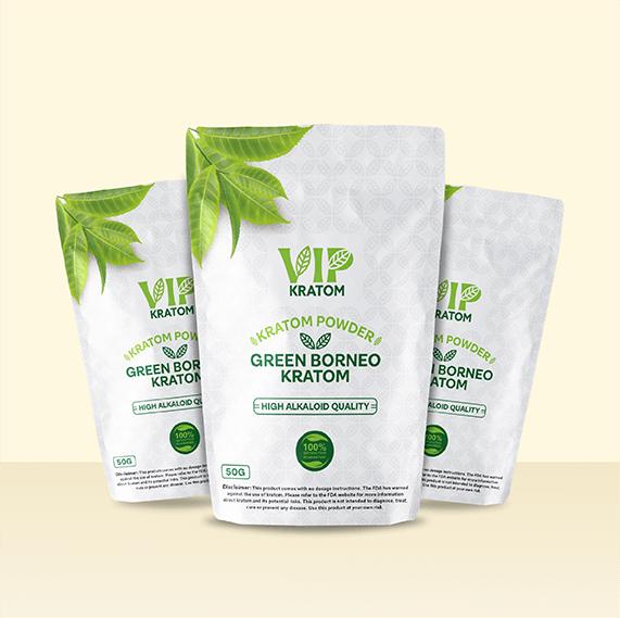 Vip Kratom - Packaging